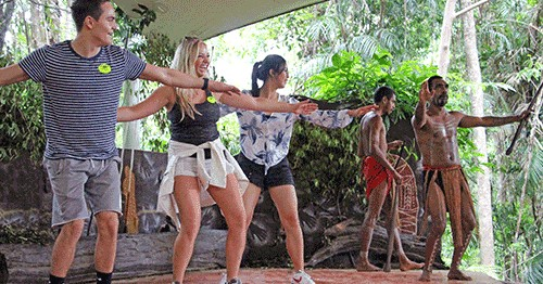 cairns educational activity pamagirri aboriginal experience