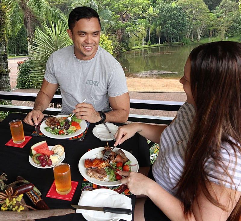 Bbq Buffet Lunch Rainforestation Nature Park kuranda attraction