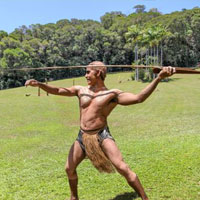 Spear Throwing Rainforestation