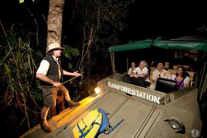 Cairns Functions And Events Army Duck Tour At Rainforestation