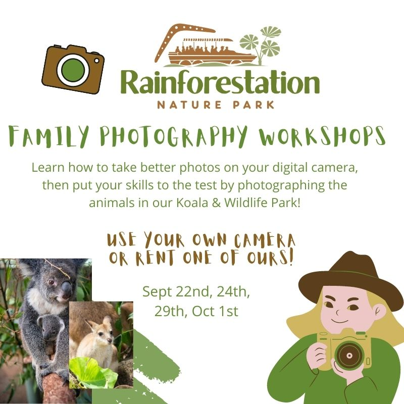 Rainforestation Family Photography Workshops